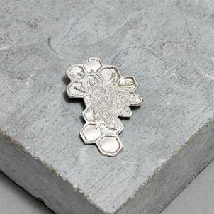 Kiki Smith Silver Bee Pin - Large