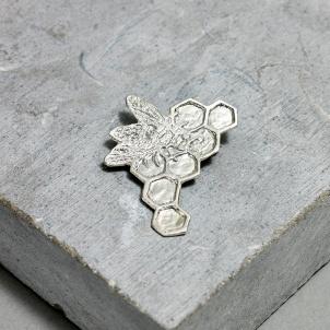 Kiki Smith Silver Bee Pin - Small