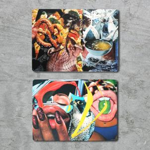 Jeff Koons Corkboard Placemat Set