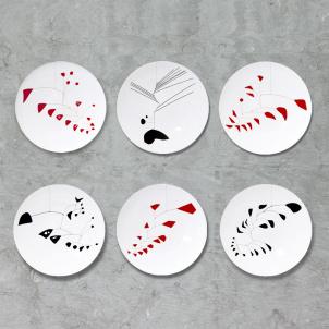 Alexander Calder Mobile Limited Edition Plate Set