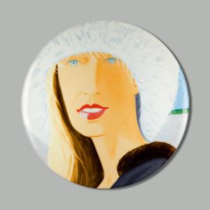 Alex Katz Jessica Plate