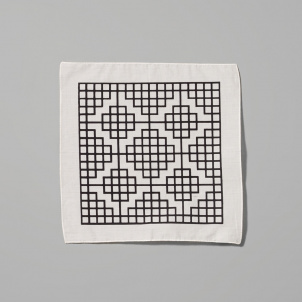 Carol Bove Grid Handkerchief