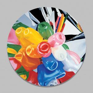 Jeff Koons Tulips Plate
