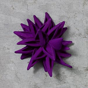 Frank Stella Star Ornament, Purple