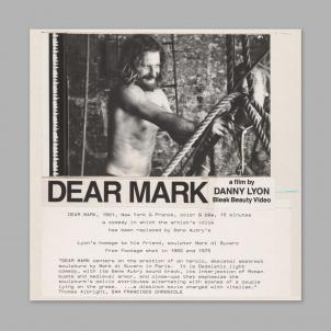 Danny Lyon: Dear Mark DVD