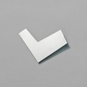 Silver Boomerang Pin by Chus Burés