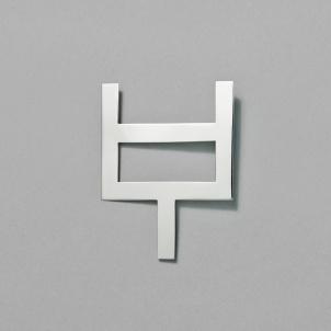 Silver Escorial Pin by Chus Burés