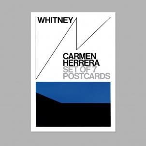 Carmen Herrera 7 Postcard Pack