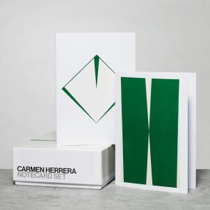 Carmen Herrera Notecard Set