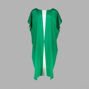 Green and White Silk Dress from Narciso Rodriguez