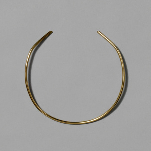 Brass Bauhaus Neck Cuff