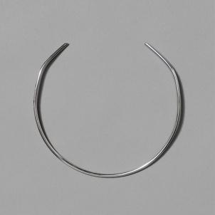 Sterling Silver Bauhaus Neck cuff