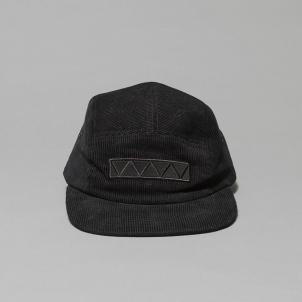 Whitney Black Corduroy Cap