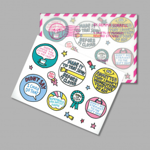 Gemma Correll Museum Reward Stickers
