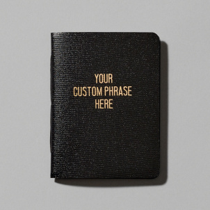 25 Custom Rude Little Black Books