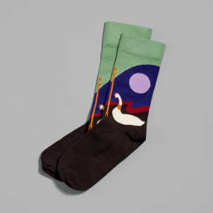 Agnes Pelton- Star Icons Socks