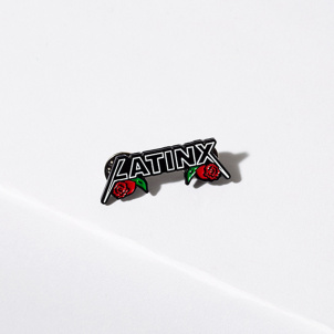 Latinx Power and Pride Enamel Pin