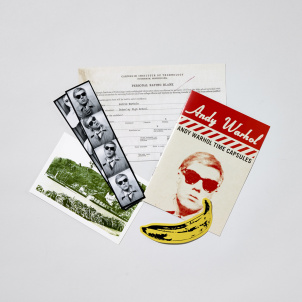 Andy Warhol Time Capsule Kit