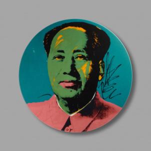 Andy Warhol Mao Porcelain Plate