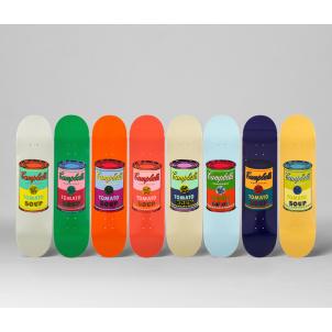 Andy Warhol Tomato Soup Can Skate Decks Set/8