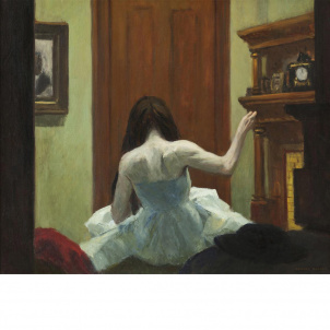 Edward Hopper, New York Interior, medium (22.2 x 26 in.) print