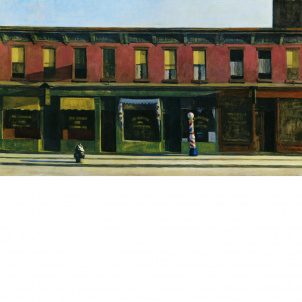 Edward Hopper, Early Sunday Morning, medium (16.76 X 26 in.) print