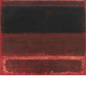 Mark Rothko, Four Darks in Red, medium (23.36 x 26 in.) print
