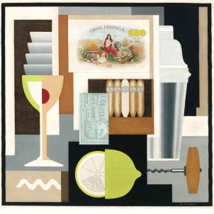 Gerald Murphy, Cocktail, medium (26 x 25.56 in.) print